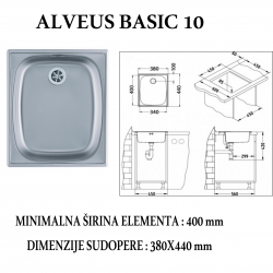 ALVEUS BASIC 10