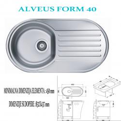 ALVEUS FORM 40