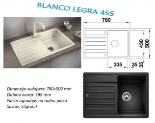 BLANCO LEGRA 45S