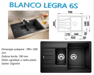 BLANCO LEGRA 6S