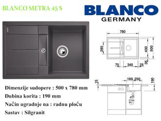 BLANCO METRA 45S