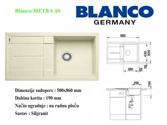 BLANCO METRA 5S