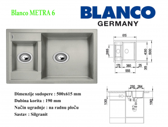 BLANCO METRA 6
