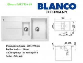 BLANCO METRA 6S