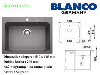 BLANCO NAYA 6