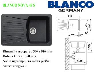 BLANCO NOVA 45 S