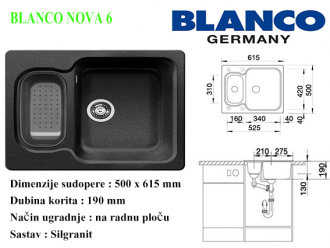 BLANCO NOVA 6