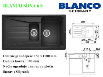 BLANCO SONA 6 S