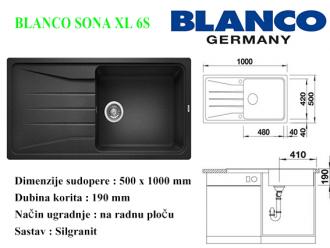 BLANCO SONA XL 6S
