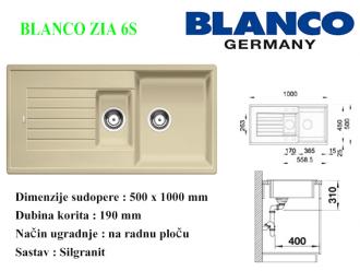 BLANCO ZIA 6S