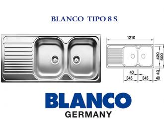 BLANCO TIPO 8 S
