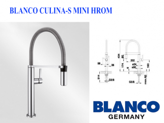 BLANCO CULINA-S MINI HROM