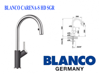 BLANCO CARENA-S HD SGR