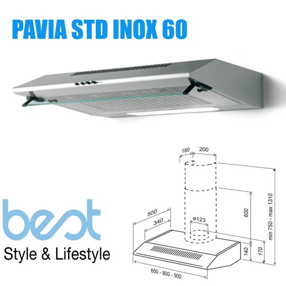 PAVIA STD INOX 60