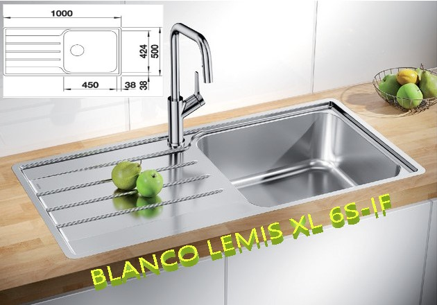 BLANCO LEMIS XL 6S-IF