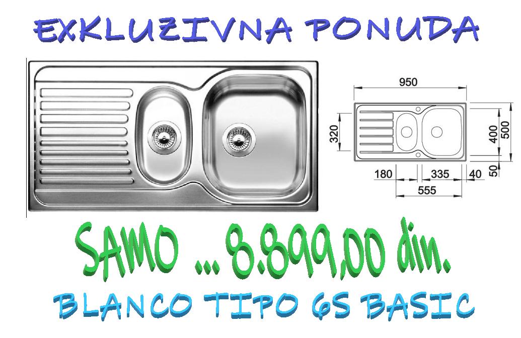 BLANCO TIPO 6S BASIC